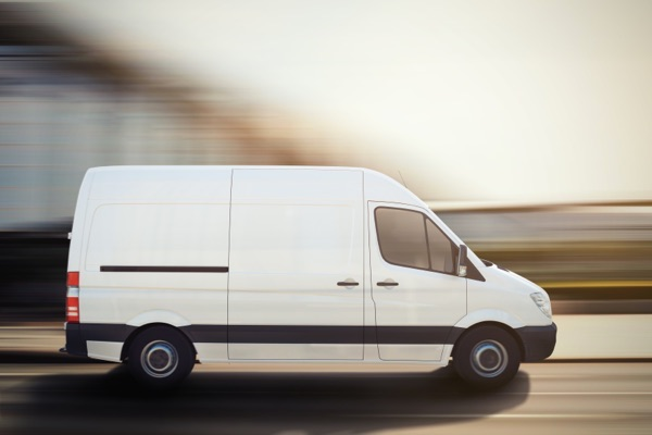 Transport companies backup service (white Van) - image
